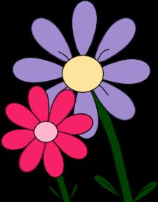 225x287 Flower Clip Art
