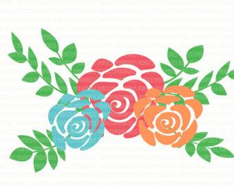 340x270 Flower Svg Etsy