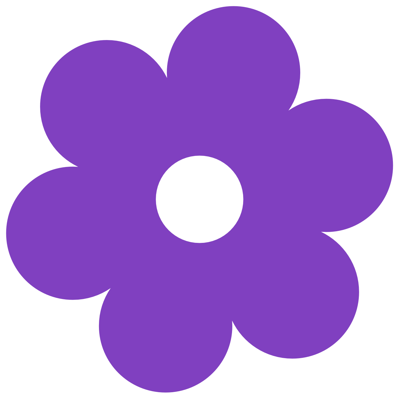 1331x1319 Simple Flower Clip Art Many Interesting Cliparts