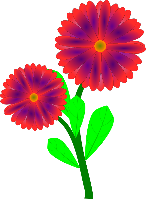 588x800 Spring Flowers Clip Art Free Printable 5