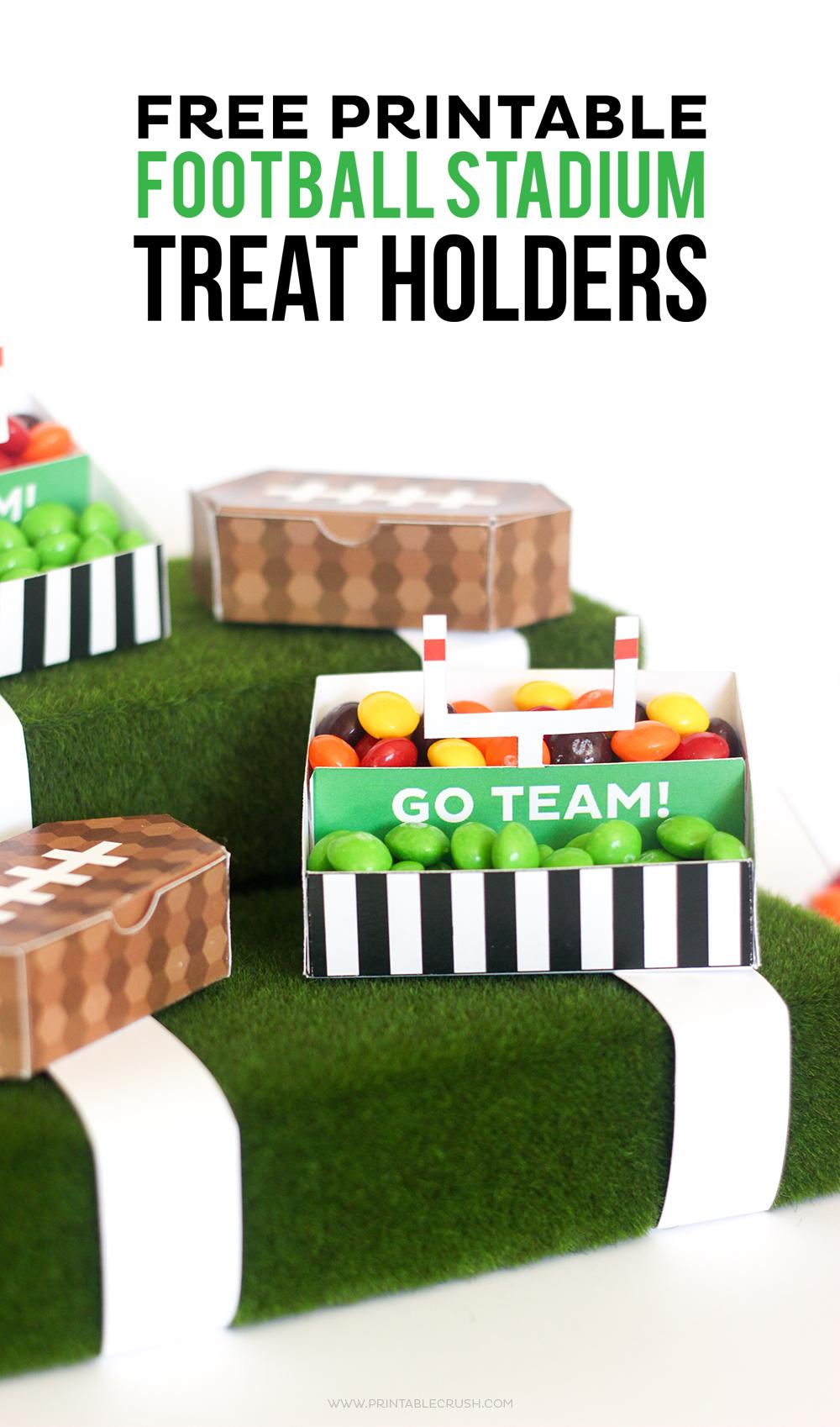 1000x1698 Free Printable Football Stadium Treat Holders
