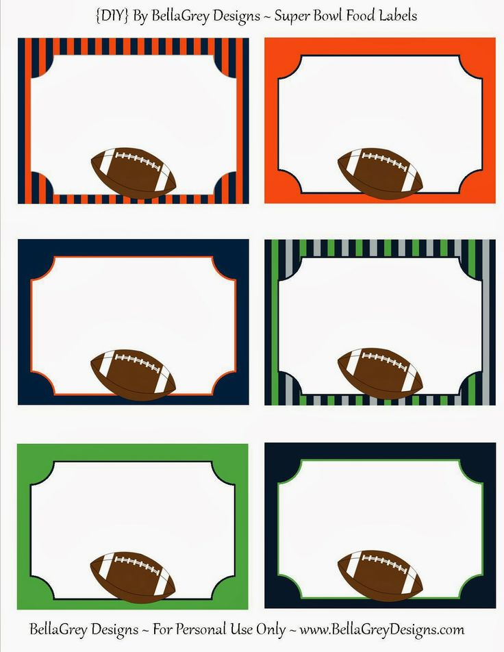 736x952 135 Best Football Printables Images Party Backdrops