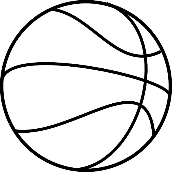 600x599 Printable Free Basketball Basketball Coloring Pages 3 Basketball