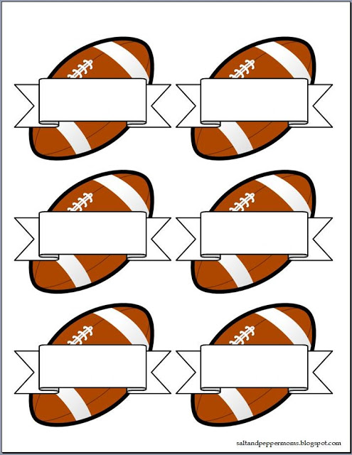 495x640 Salt And Pepper Moms Football Snack Tag Printables Sports