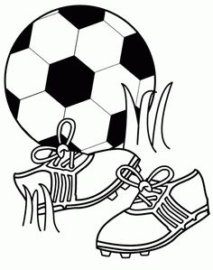 236x299 Soccer Ball Coloring Page Printable School Themes