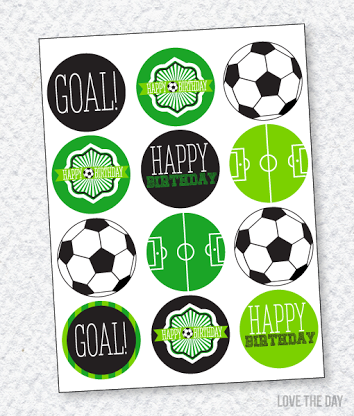 354x416 Free Printables Soccer Party