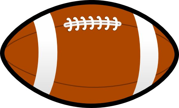 600x364 Printable Football Pictures Free Printable Football Clipart