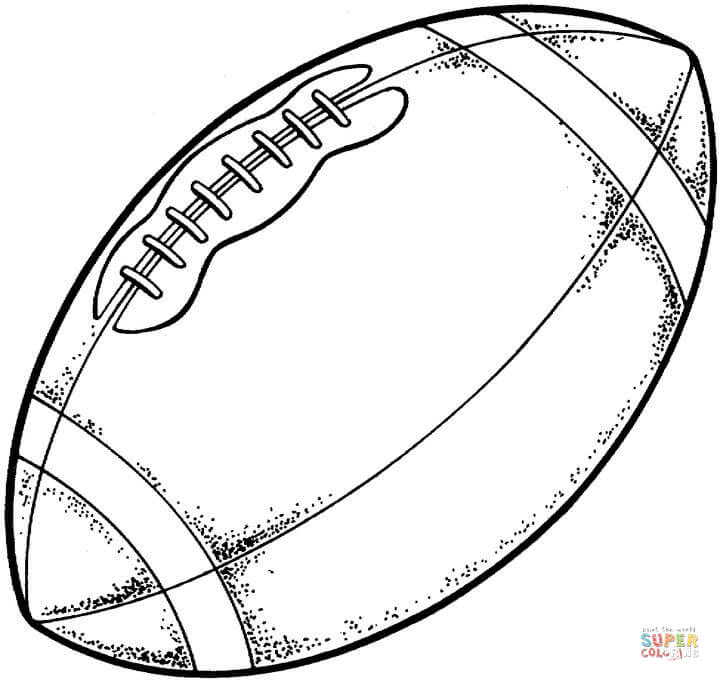 720x681 Delightful Design Coloring Pages Football Typical Modern American