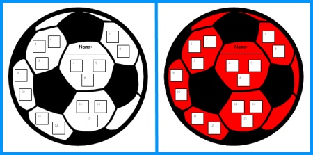 450x223 Football Sticker Charts Fun Sticker Chart Templates Shaped Like