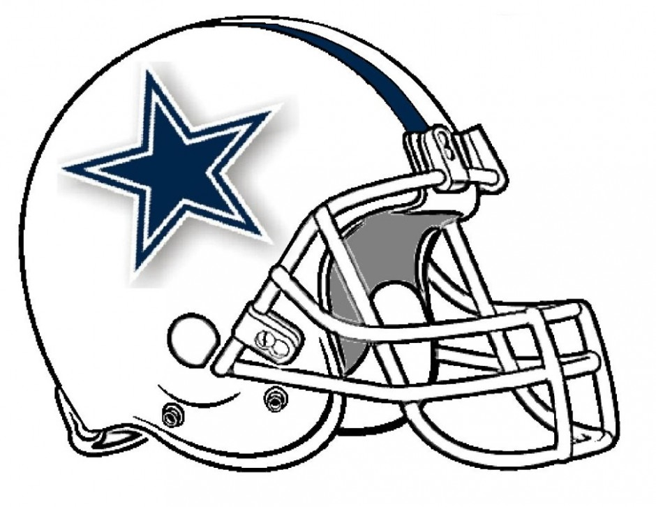 940x726 Nfl Football Helmet Coloring Pages Many Interesting Cliparts