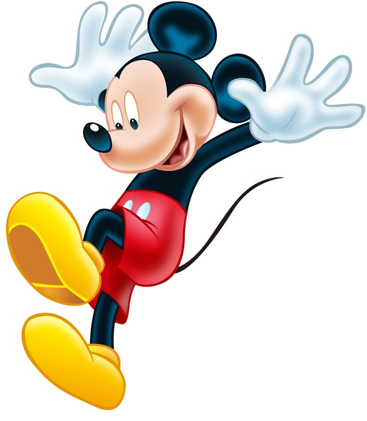 Printable Mickey Mouse Clipart