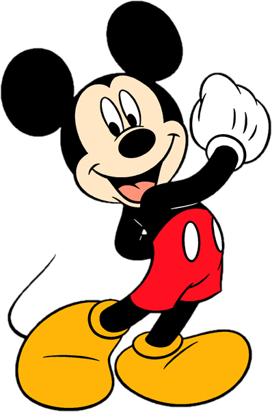 398x602 Mickey Mouse Clipart Printable