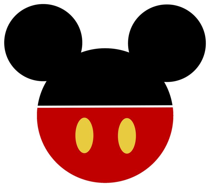 graphic regarding Minnie Mouse Silhouette Printable identified as Printable Mickey Mouse Clipart Cost-free obtain easiest