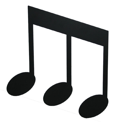 picture relating to Music Note Printable known as Printable Tunes Notes Cost-free obtain ideal Printable Tunes