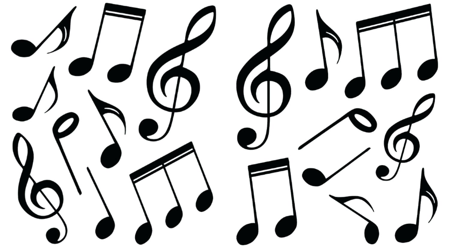 photograph relating to Music Notes Printable named Printable Audio Notes No cost obtain excellent Printable Audio