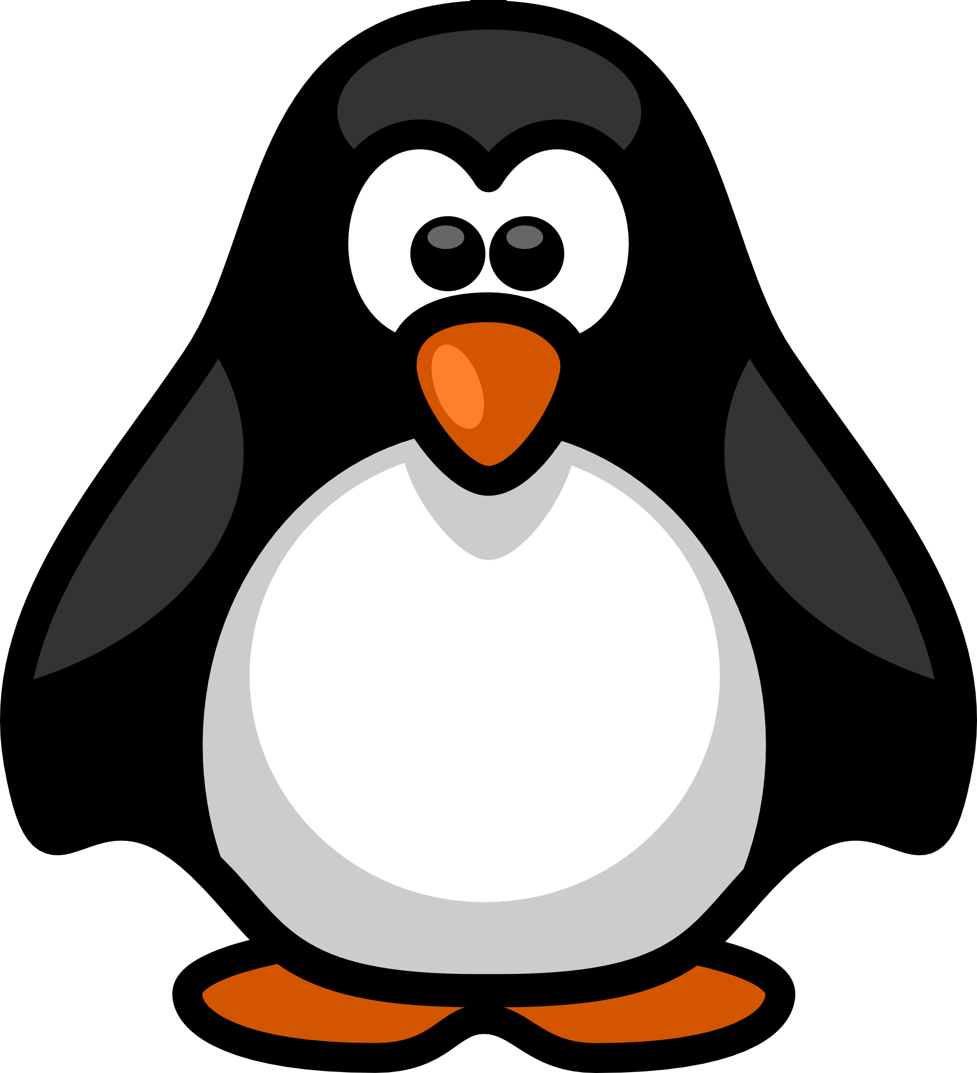 1969x2163 Penguin Clip Art Printable Free Free Clipart Images 2