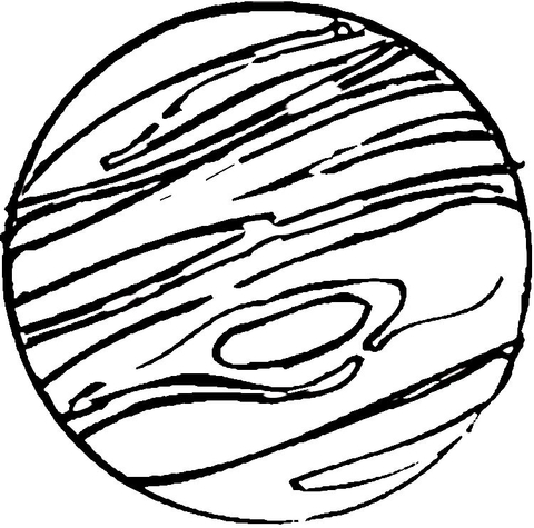 480x475 Jupiter Coloring Page Free Printable Coloring Pages