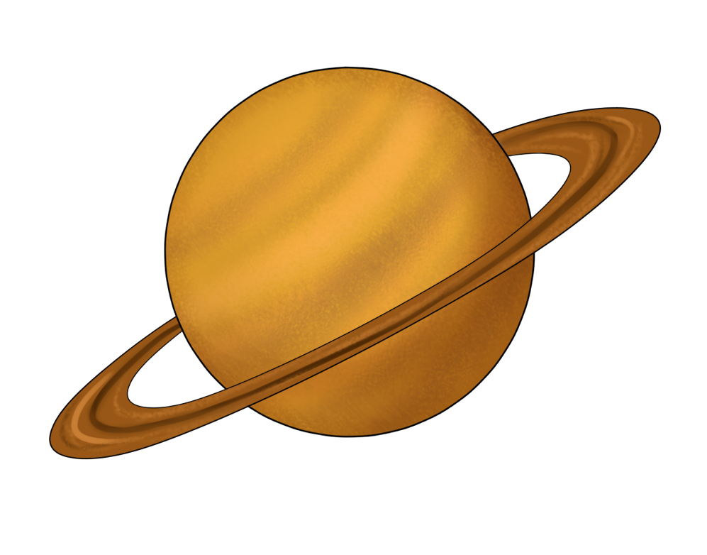 997x782 Planets Clipart Saturn