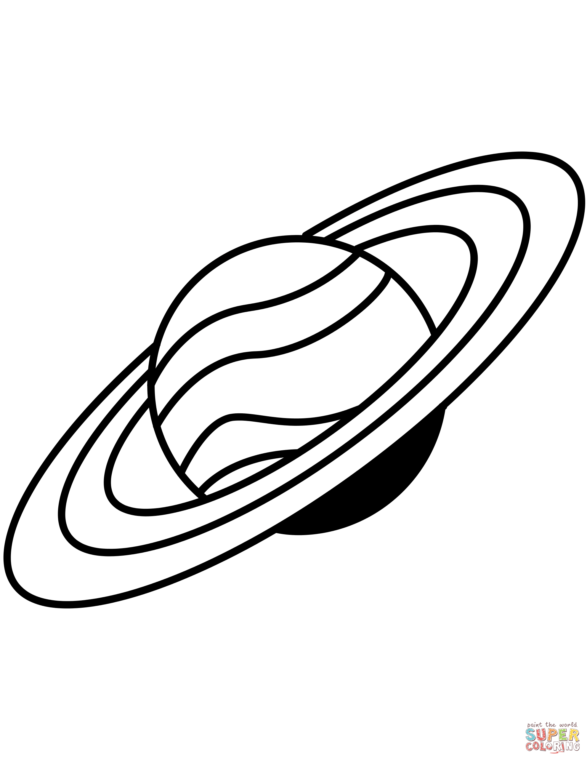 printable pictures of saturn free on clipartmag