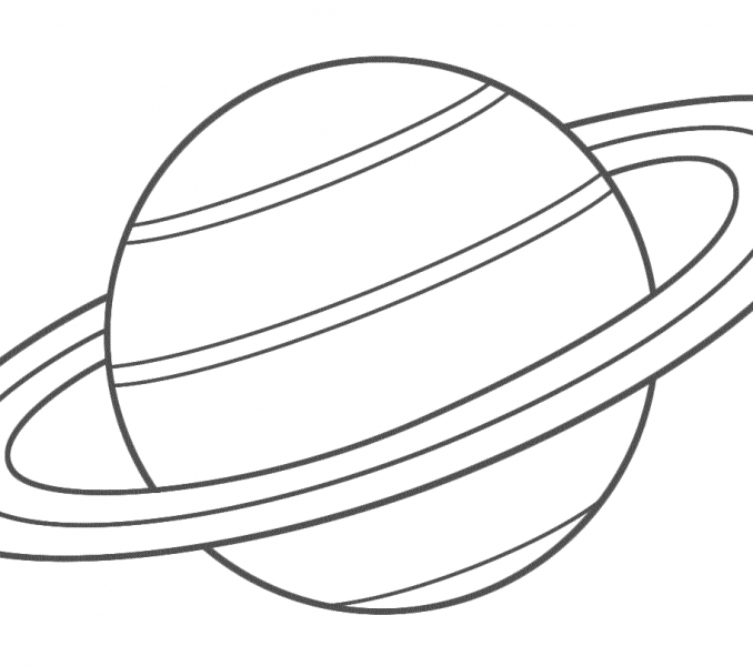 planet saturn coloring pages - photo#20