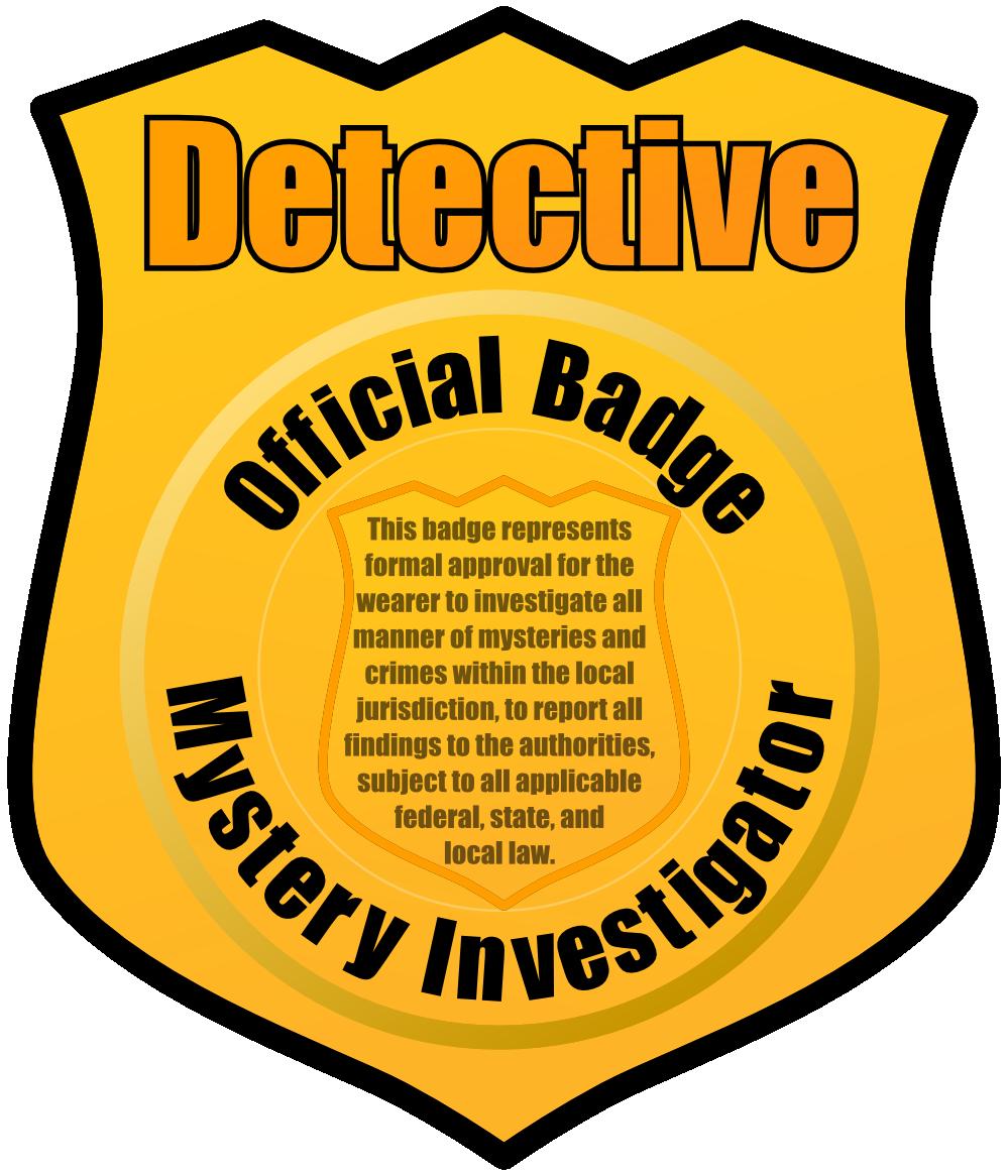 999x1166 Detective Badge Clipart