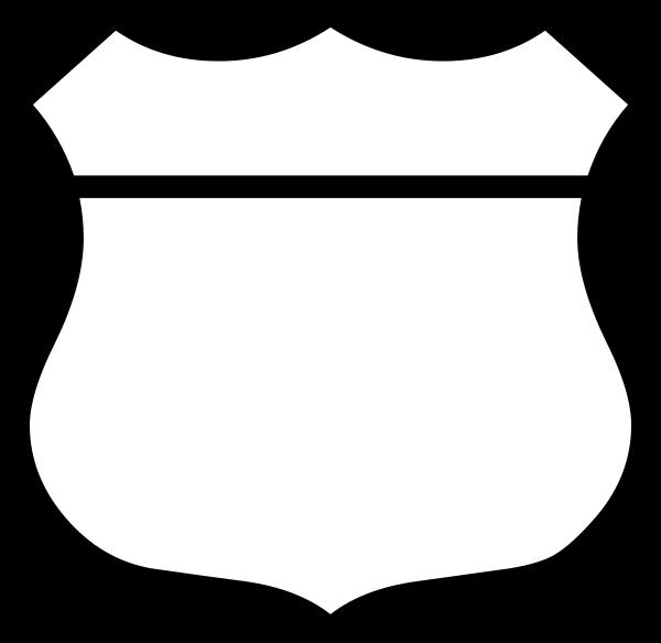 600x584 Police Badge Clip Art