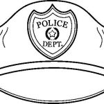 150x150 Police Badge Officer Coloring Page Sheets And Free Print Pages