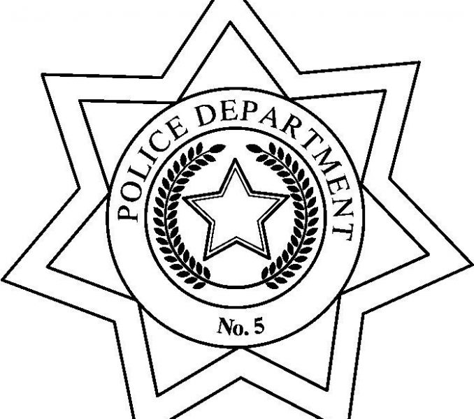 678x600 Police Badge Drawing Police Badge Drawing Police Badge Police