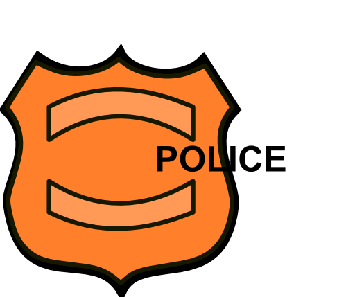 512x429 Police Badge Outline Clipart