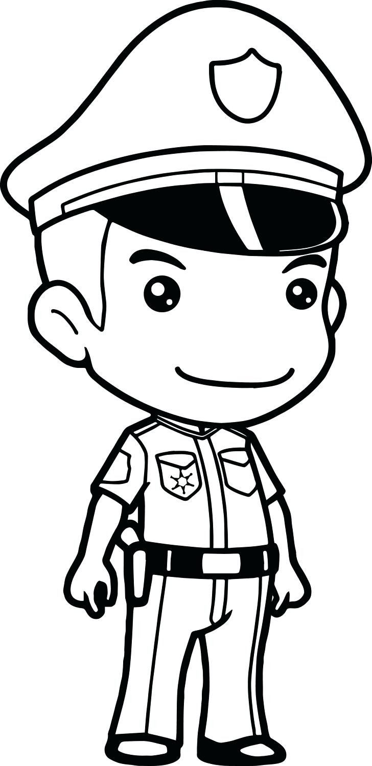 728x1499 Unique Police Officer Coloring Page Coloring Pages Activities