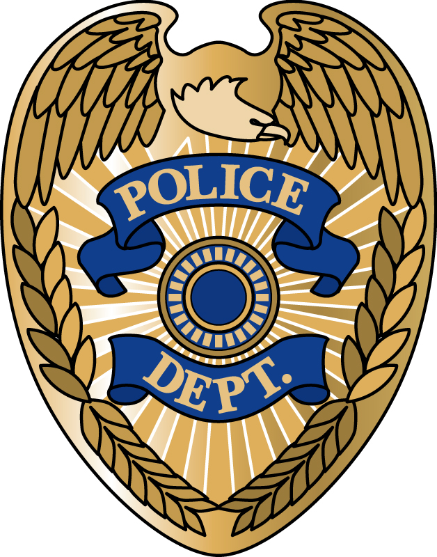 628x800 Vector Clipart Police Badge