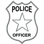 150x150 Outstanding Captivating Police Badge Outline Best Of Shield Set 9
