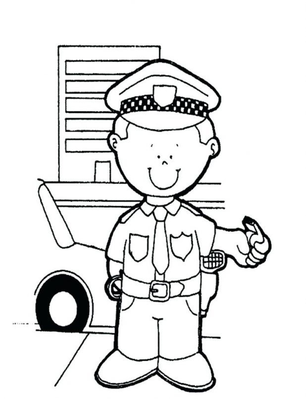 618x805 Coloring Pages Extraordinary Police Badge Printable. Police Badge