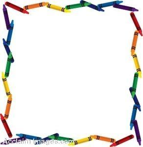 292x300 76 Best Education Theme Borders Images 2nd Grades