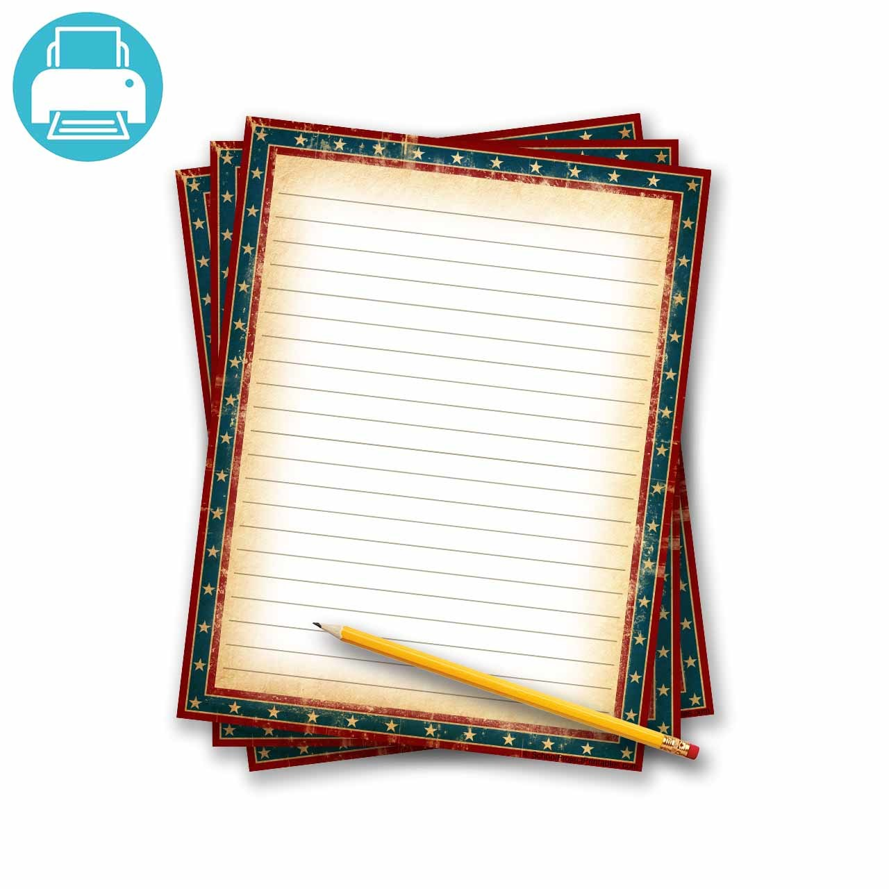 1280x1280 Border Paper Template Printable Lines Paper Sign In Sheet