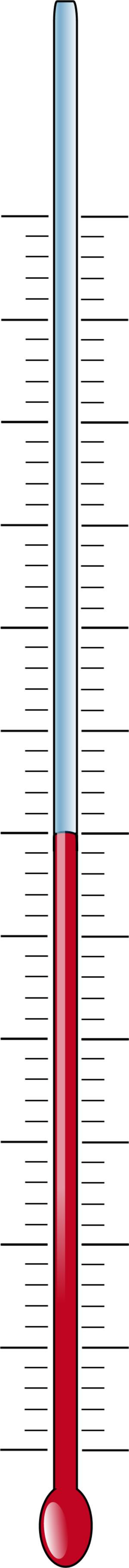 300x3627 Printable Fundraising Thermometer Clipart 4