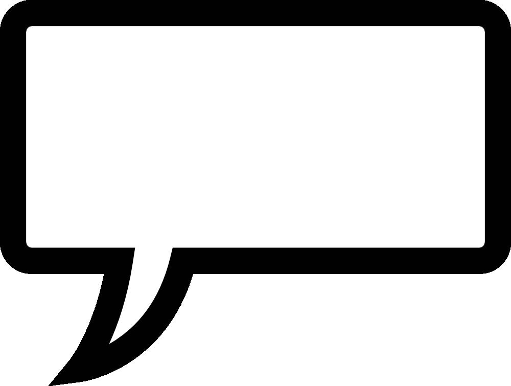 1000x755 Printable Speech Bubbles Clipart 2