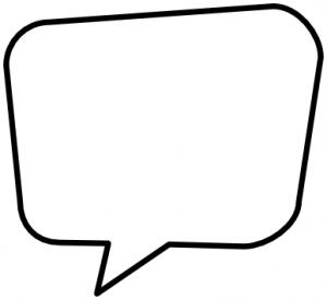300x275 Speech Bubbles Blank Speech Bubble Clipart Kid 4