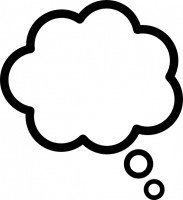 183x200 Thought Bubble Clip Art Free Clipart