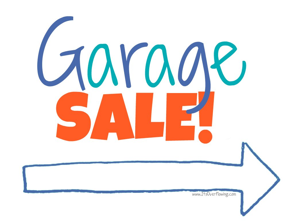1000x773 Garage Sale Sign And Find