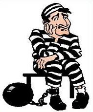 190x230 Free Convict Clipart
