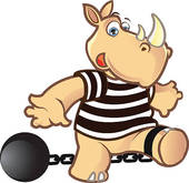 170x165 Prisoner Ball Clip Art