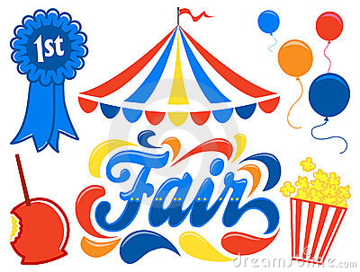 400x303 Illustrated Logotype Headline Of The Title Fair, With Clipart