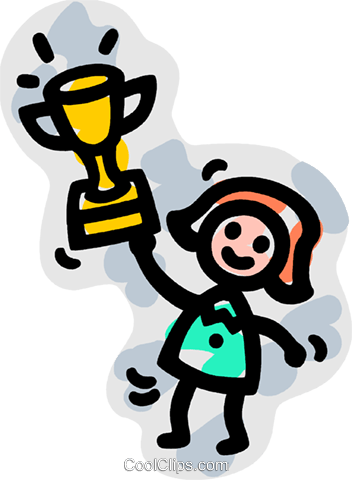 352x480 Trophies, Awards Winning Prize Royalty Free Vector Clip Art