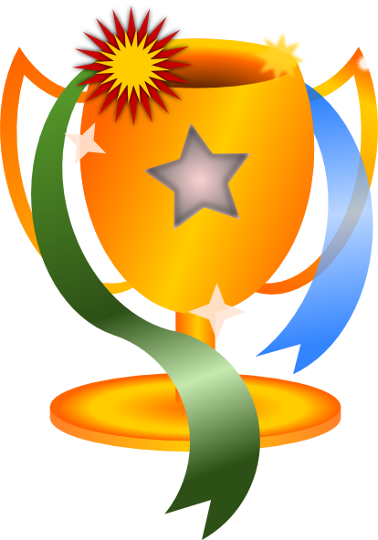 414x592 Trophy Clip Art