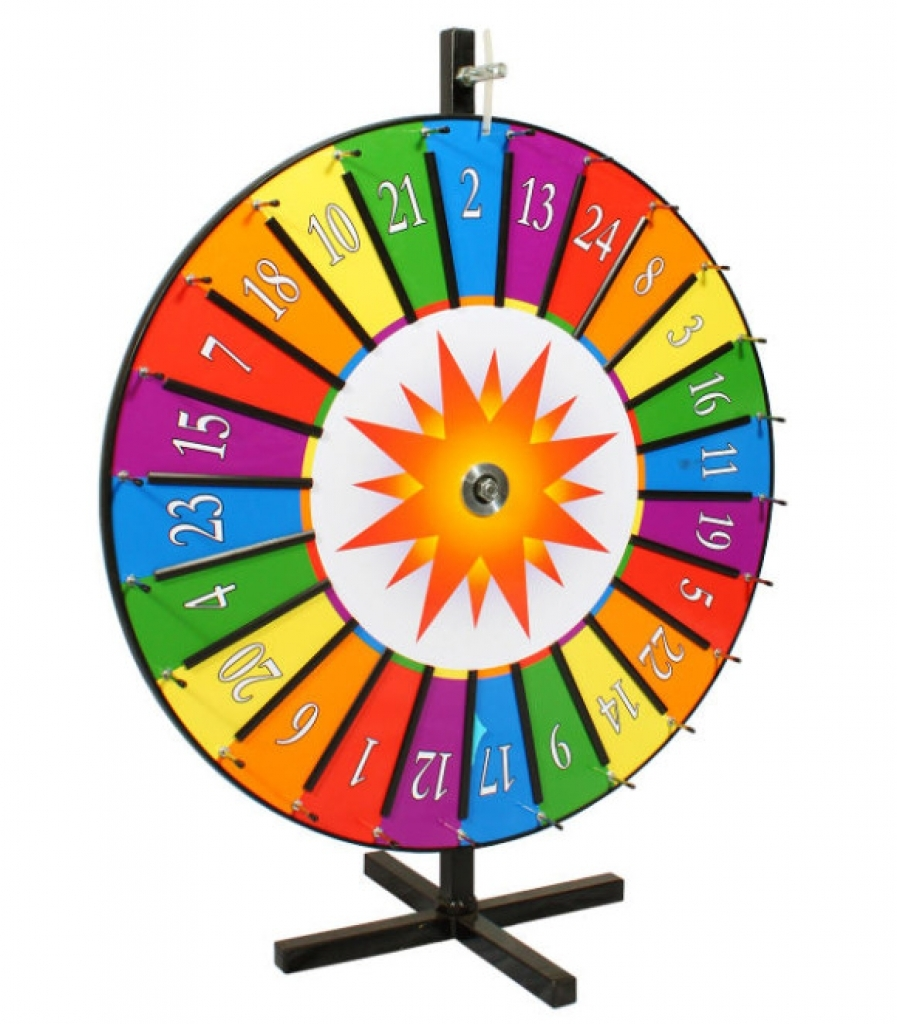 897x1024 How To Make Spinning Prize Wheel Game Clipart Illustrations Prize