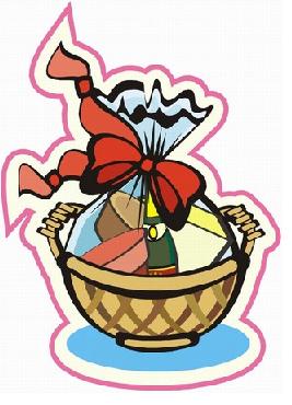 267x370 Basket Clipart Prize