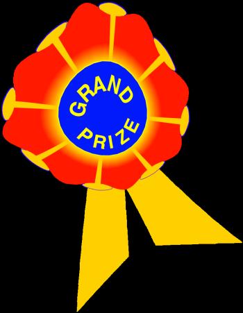 350x451 Grand Prize Clip Art