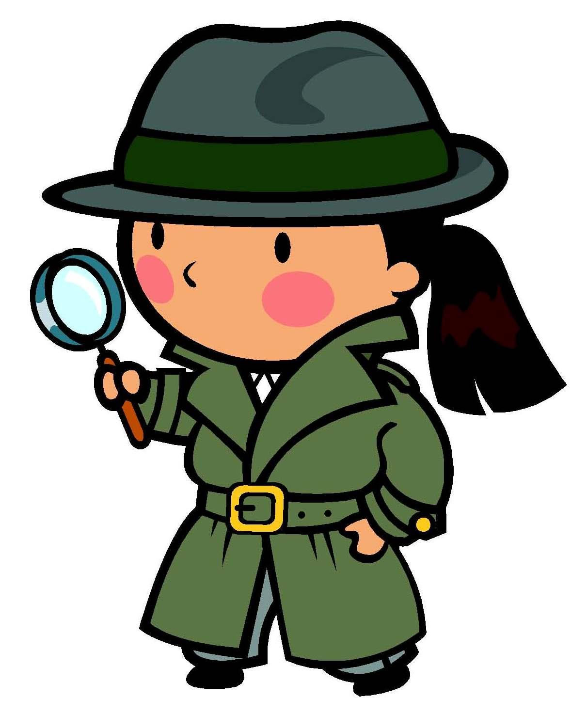 1211x1473 Female Detective Clipart