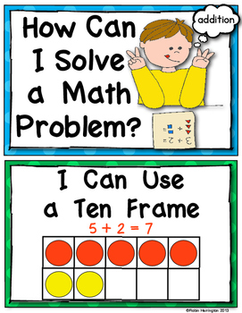 271x350 Math Problems {Strategy Posters For Addition} Common Core